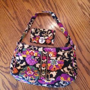 Vera Bradley Purse & Id coin purse